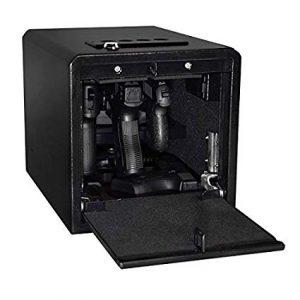 Stealth Handgun Hanger biometric safe