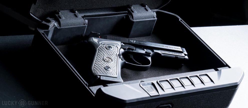 gun safe storage