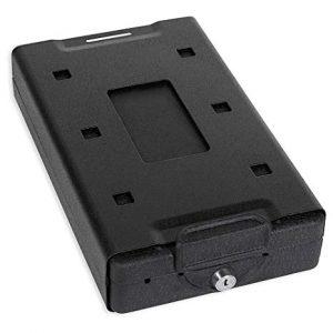 Bulldog Cases with key lock gun safe
