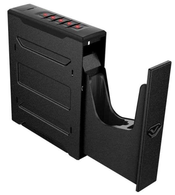 bed mount gun safe