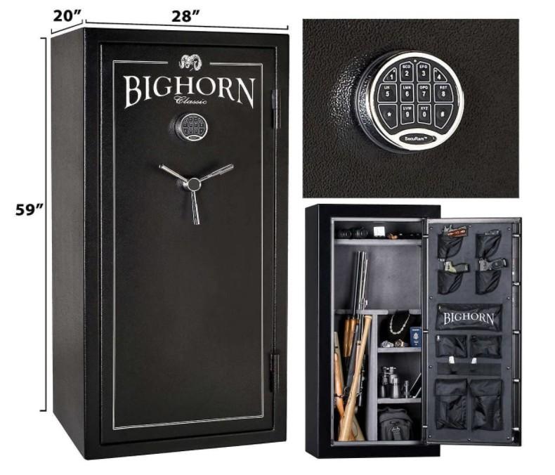 bighorn ultimate access gun safe reviews