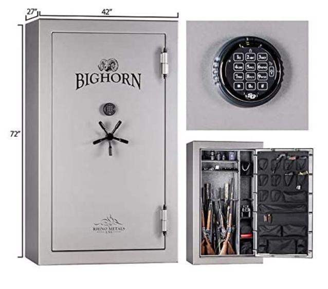 fireproof bighorn gun safes