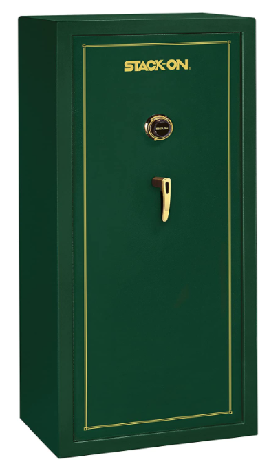 green stack-on gun safe