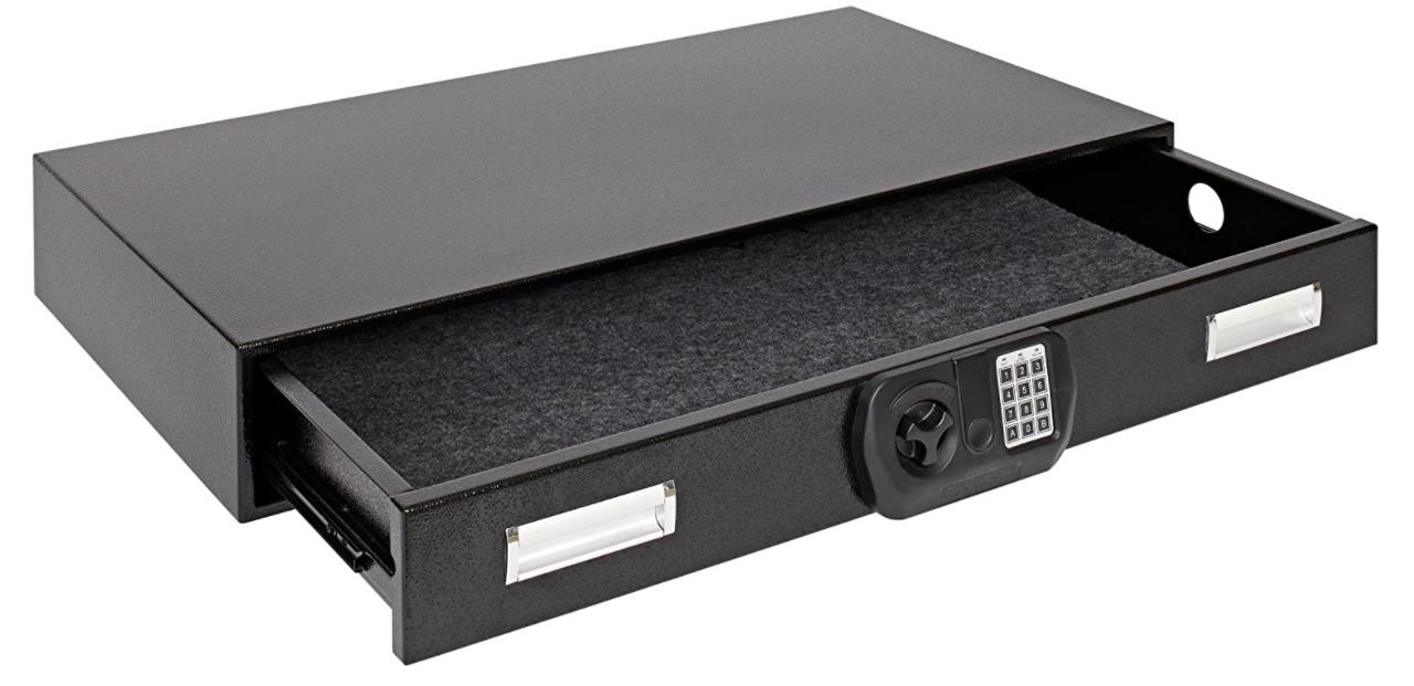 best under-bed gun safes
