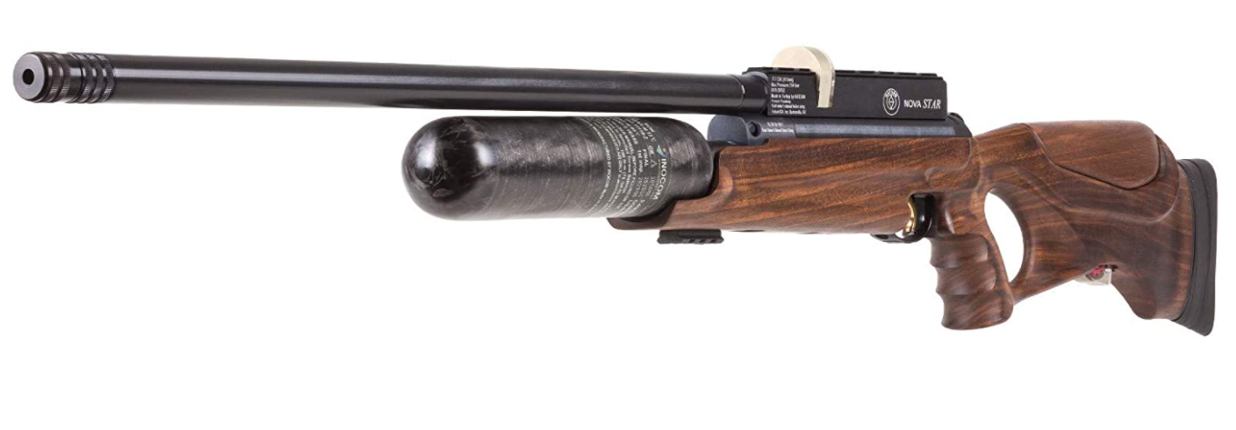 long-range hunting rifle