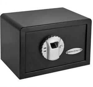Barska Biometric Fingerprint Mini Security Home Safe