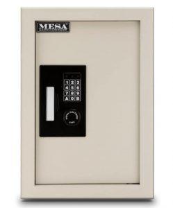 Mesa Electronic wall safe