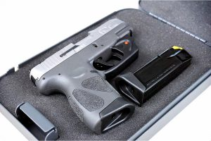 foam line portable gun safe with mag